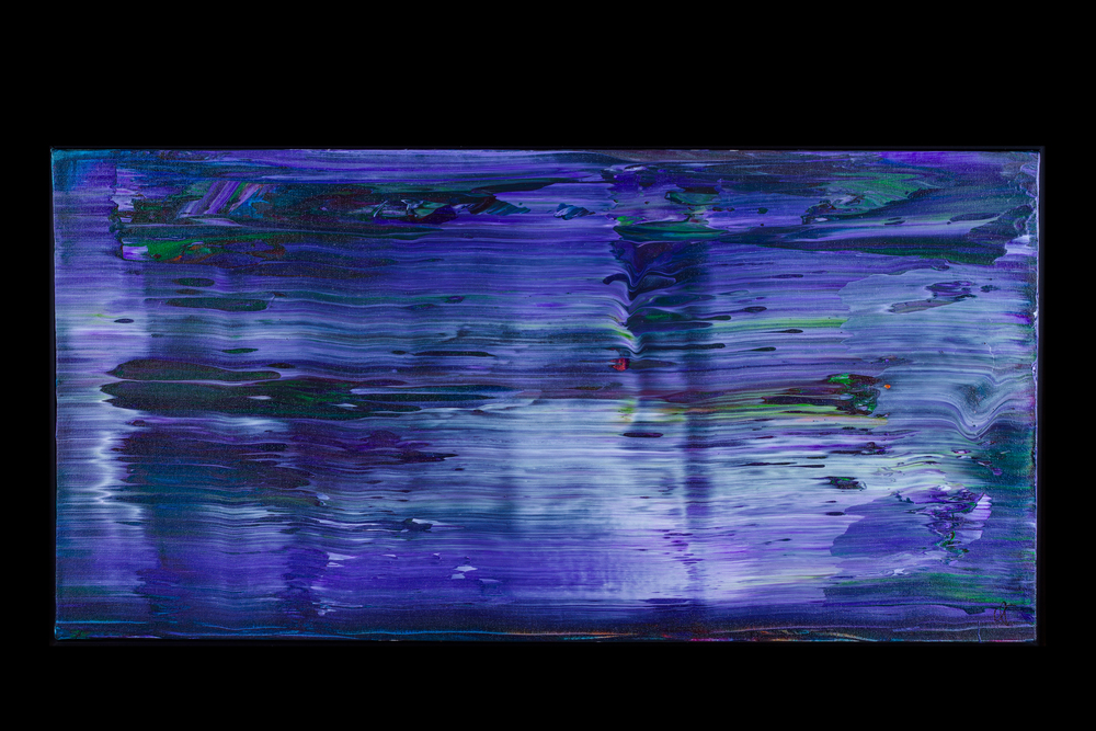 """Fast Water III - 18"""" x 36"""" - $450"""