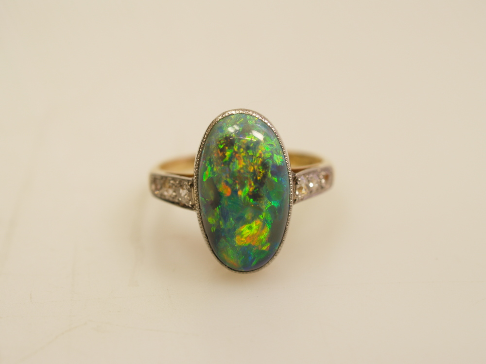 rare quality antique opal