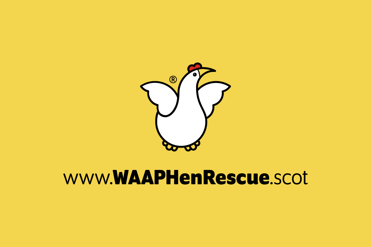 Love Grids® Brand Identity Design for WAAP Hen Rescue. Stuart Cockburn © 2019