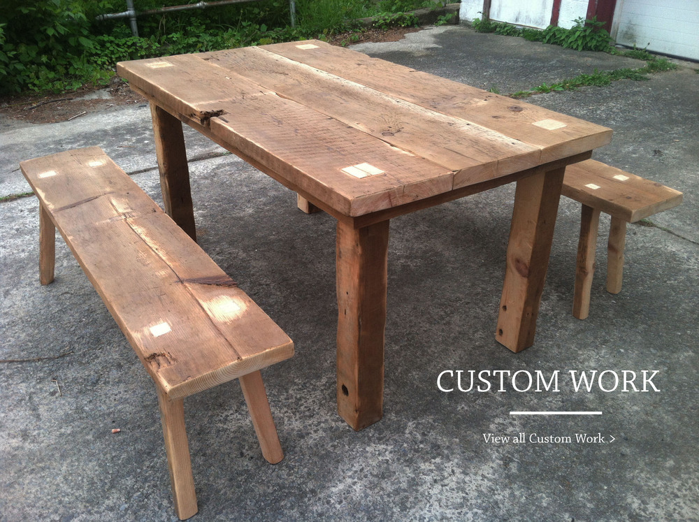 Custom Trinity Dining Set