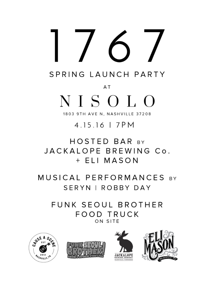 Spring Launch Flier