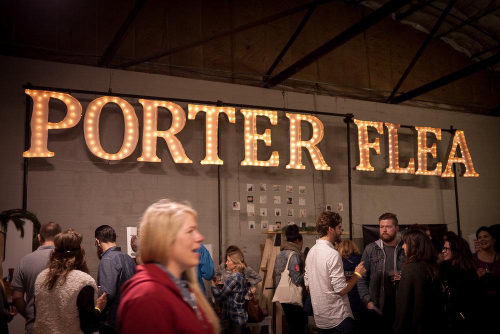 Porter Flea | Image via ginkaville