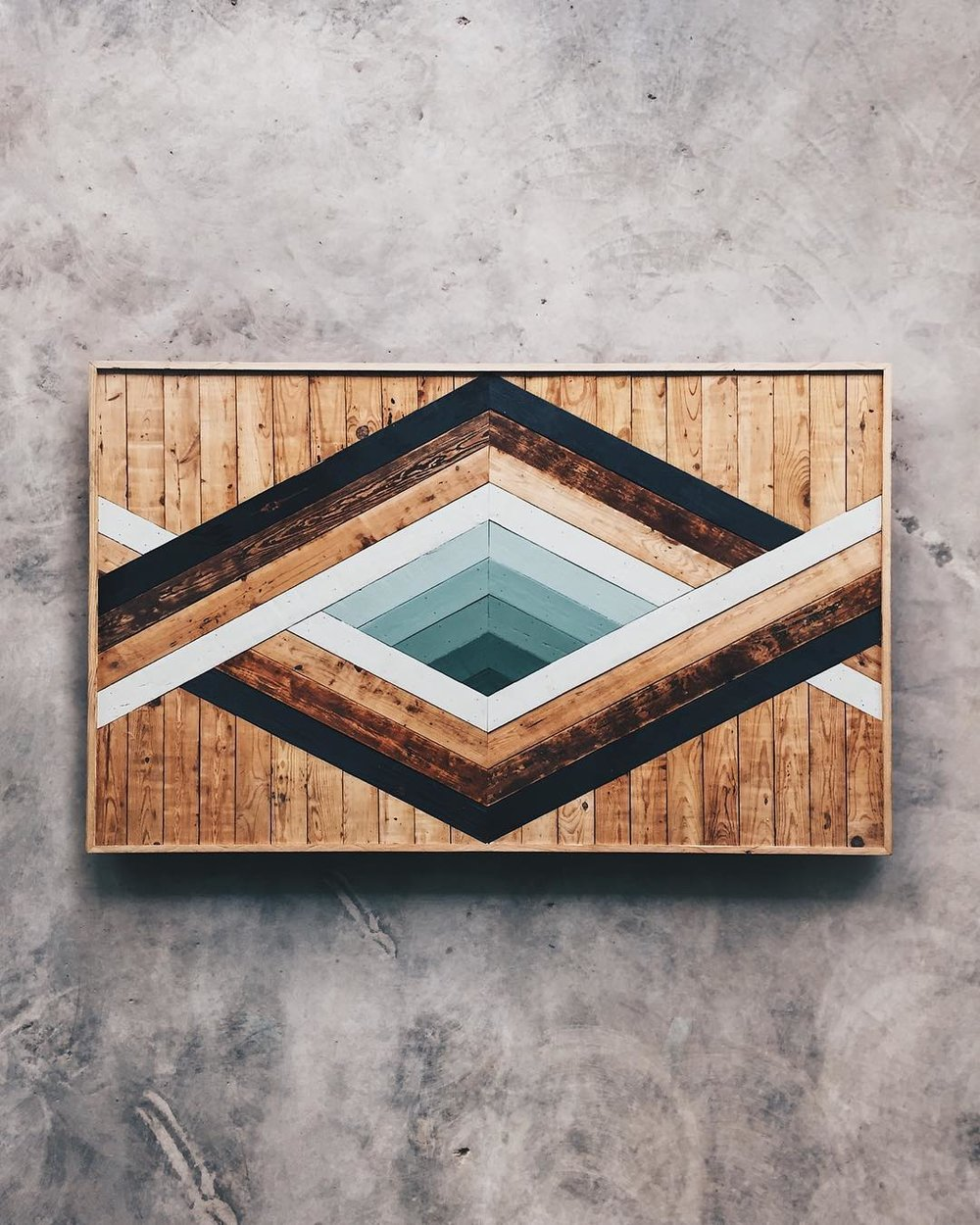 Layman Drug Co. - Wall Art   Made from reclaimed house wood from Nashville, TN