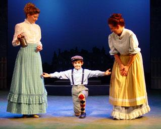 Warwick Actor Noel Sepulveda in The Music Man- 2003