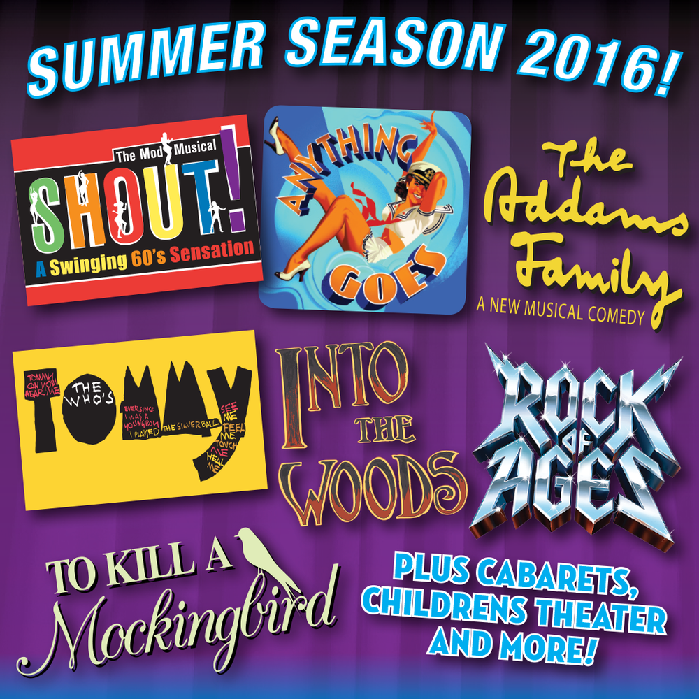 2016 season Forestburgh Playhouse