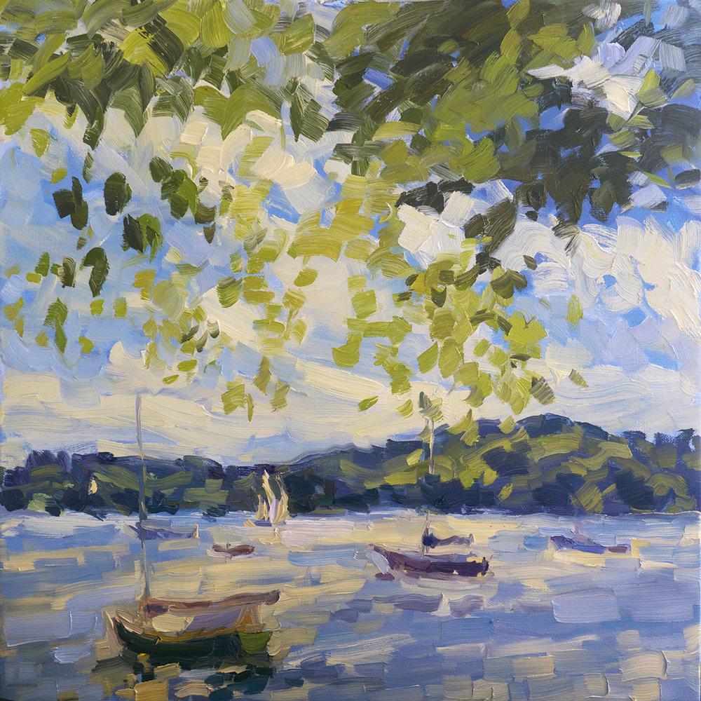Cove, Boats, Maple