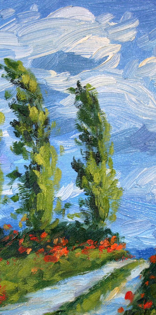 Poplars (#2)