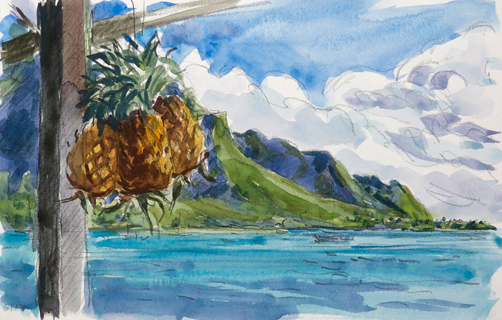 Tahiti Pineapples