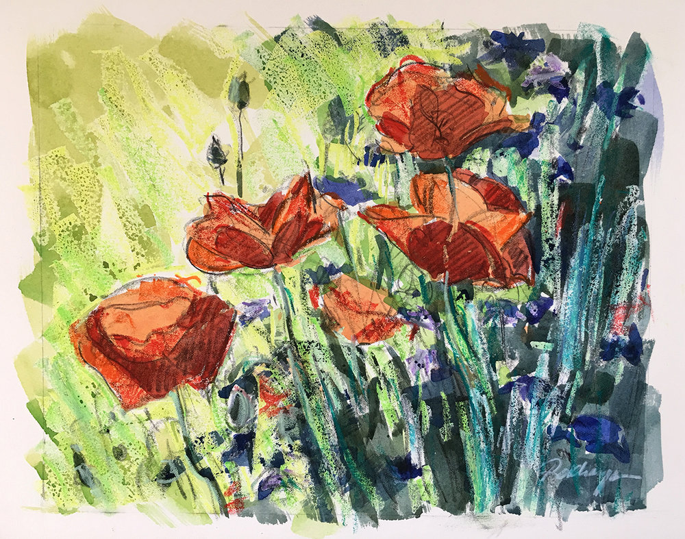 Red Poppies (#1)