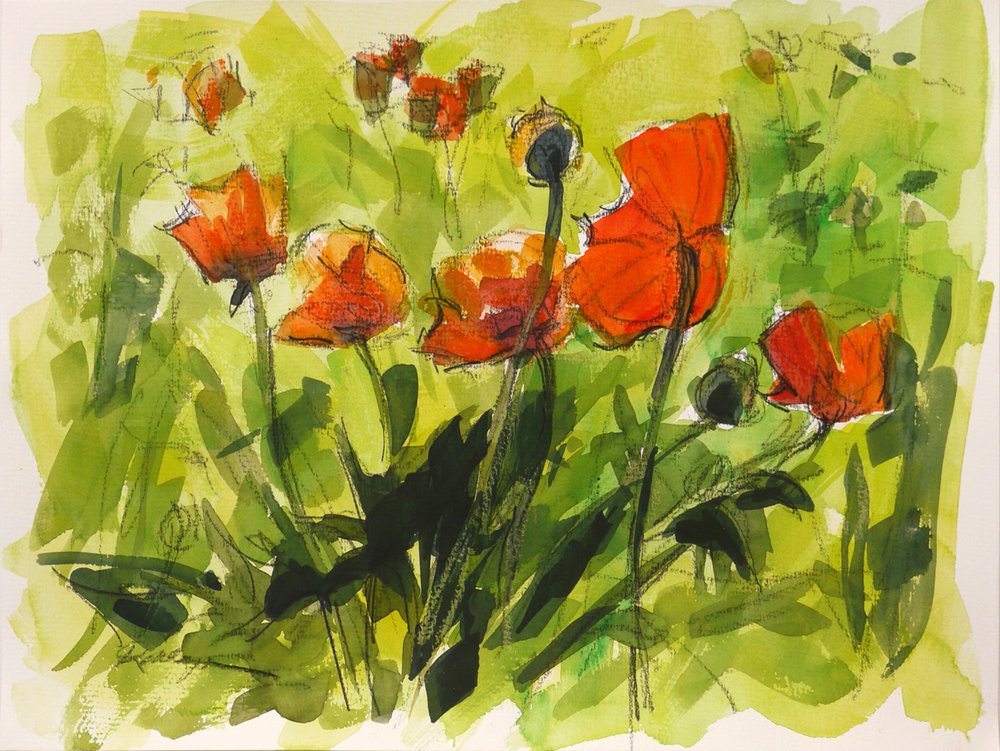 Red Poppies (#2)
