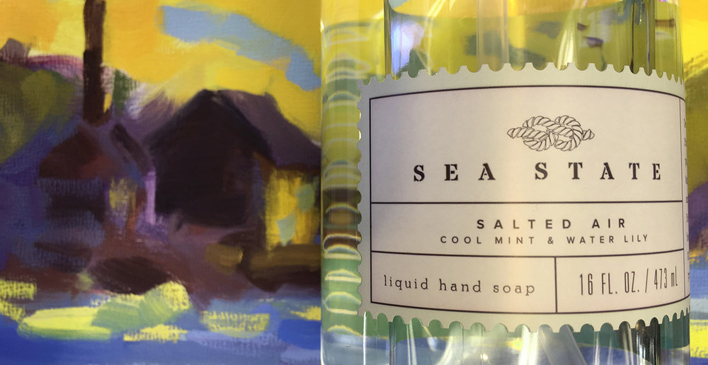 Salted Air Liquid Hand Soap