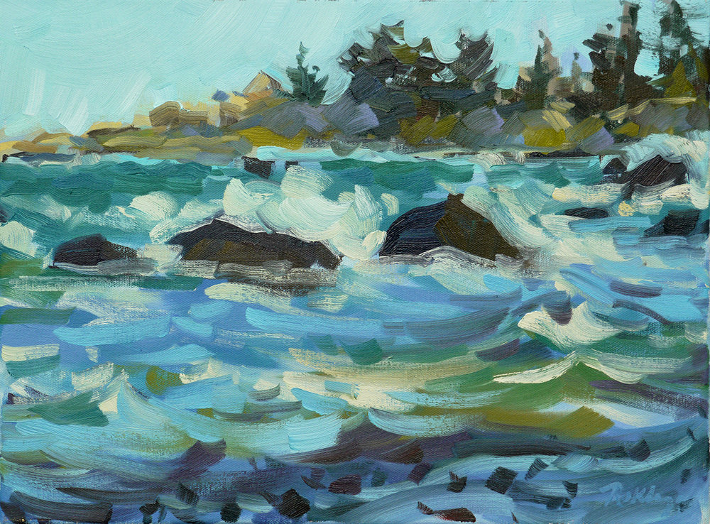 Windy Day (Brace Cove)