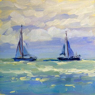 Two on the Horizon