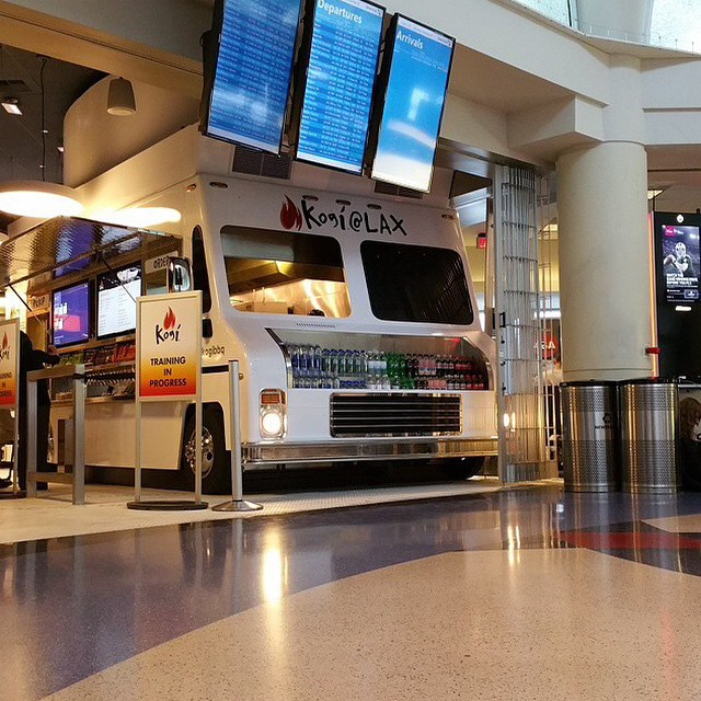 "Some major news. Kogi now available at LAX! ""The streets are now in the skies. Spilling salsa roja on the moon next."" Regram from our very own @ridingshotgunla. Congratulations to you and the Kogi family!"