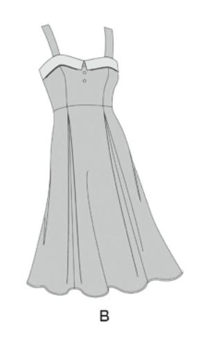 Simplicity Dress Style B