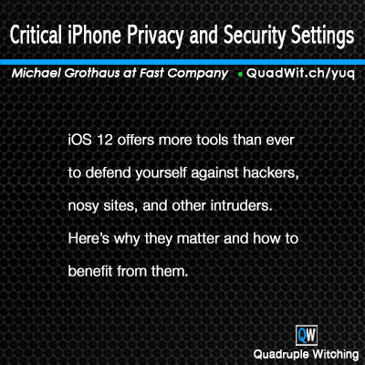 Critical iPhone Privacy and Security Settings — Quadruple