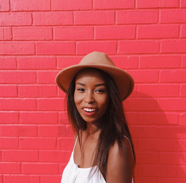 The stunning Daizsa Preston, the fashionista foodie behind @gemsbydai.
