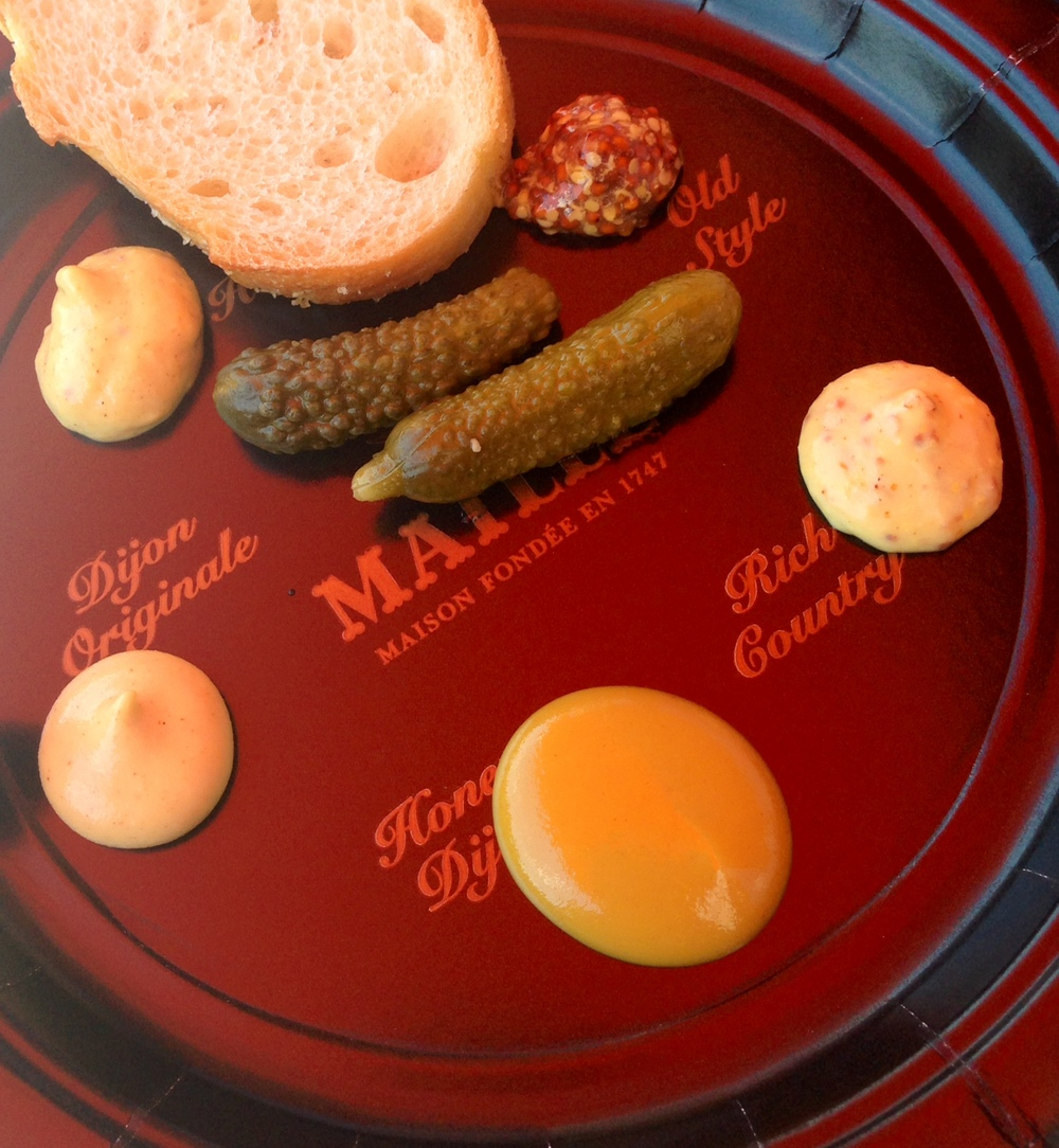 Maille Mustard Tasting Plate
