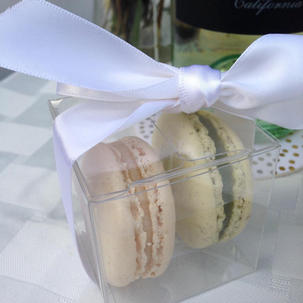 Yummy macarons from Olivia Macaron.