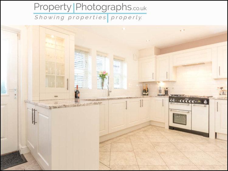 Property Photographs vs Standard Agent Shot - Kitchen