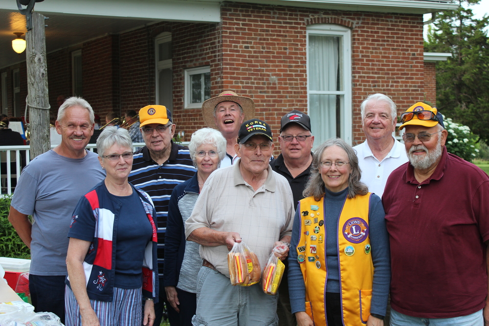 Winterset Lion's Club Members