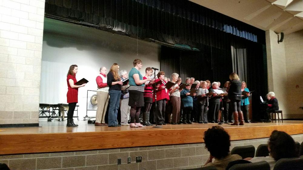 2015 Winterset Community Chorus