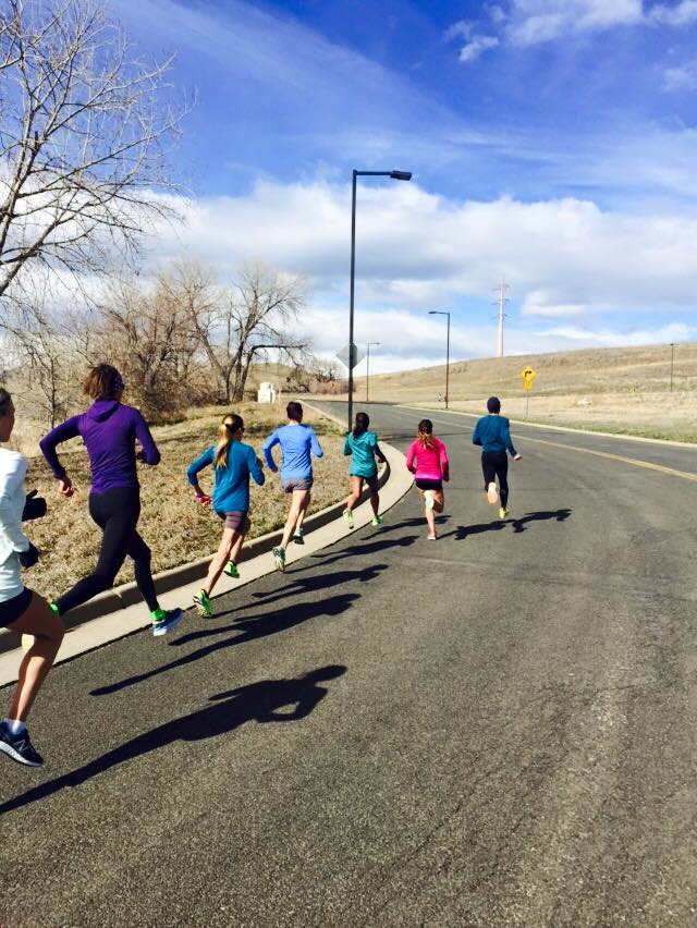 """1 minute hill """"sprints"""" (1500m pace)"""