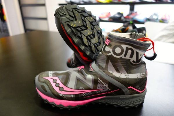 Saucony's Razor Ice Plus shoe. image from iRunfar.com