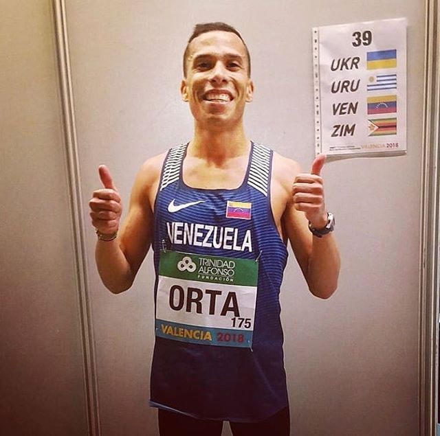 Luis had a stellar weekend at the World Half Marathon Champs in Valencia, Spain! • 1:03:09 for a new Venezuelan National Record!! And 33 second PR 🇻🇪
