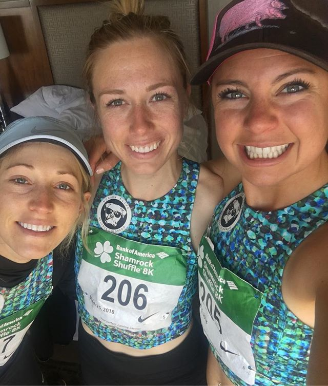 Maggie, Kyle and Sam took on the windy city this morning for the Bank of America Shamrock Shuffle in Chicago. They placed 4th as a team and 7th, 10th and 15th respectfully. The rust is busted and they are ready for a spring of racing!