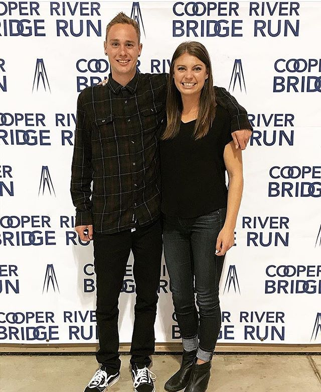 Maggie and Ian ran the bridge in the #cooperriverbridgerun on Saturday! They had a great experience and loved their first time in Charleston. • • • #thatsalongbridge #thirdlargest10k 🏃🏻‍♀️🏃🏼‍♂️