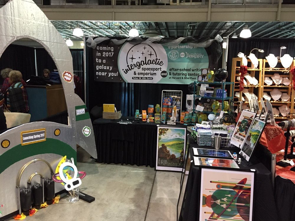 Holiday Market Booth