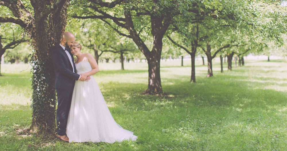Switzerland Wedding Orchard