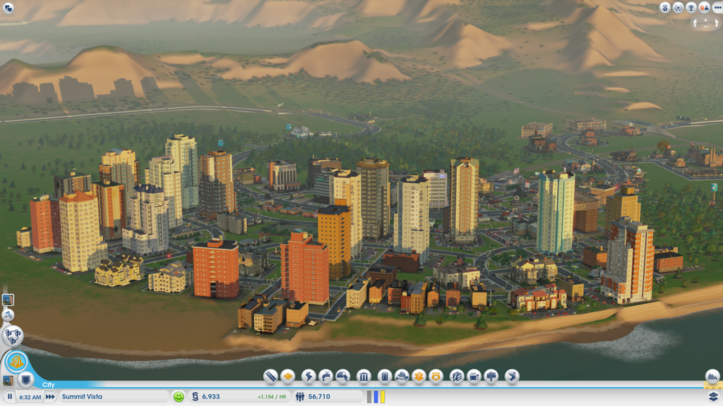 Sample Simcity City