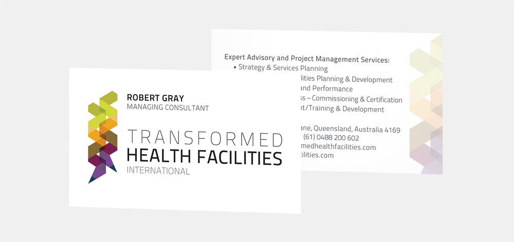 Gray Design transformed business card