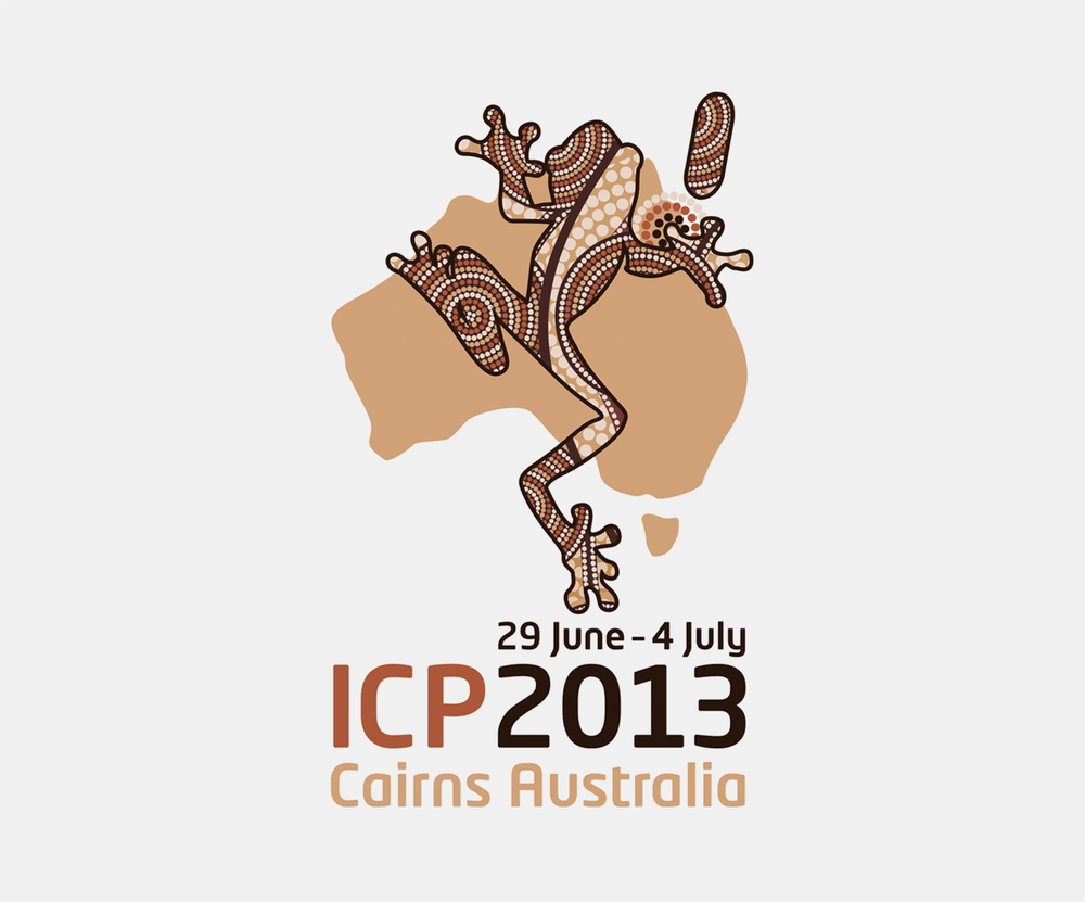 Gray Design conference design ICP2013 Logo