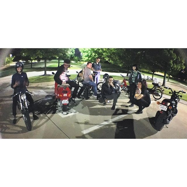 The Deth Jets first weekly ride of the year was such a success. Stoked to ride again this Wednesday.