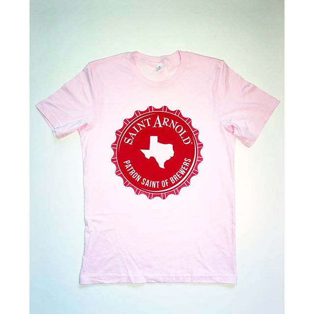 We're headed out for the @saintarnoldbrewing Dallas Pub Crawl on Lower Greenville. We'll be set up at Truck Yard from 6:30-8pm, come by and get a pint and a shirt. Design 1 of 4.