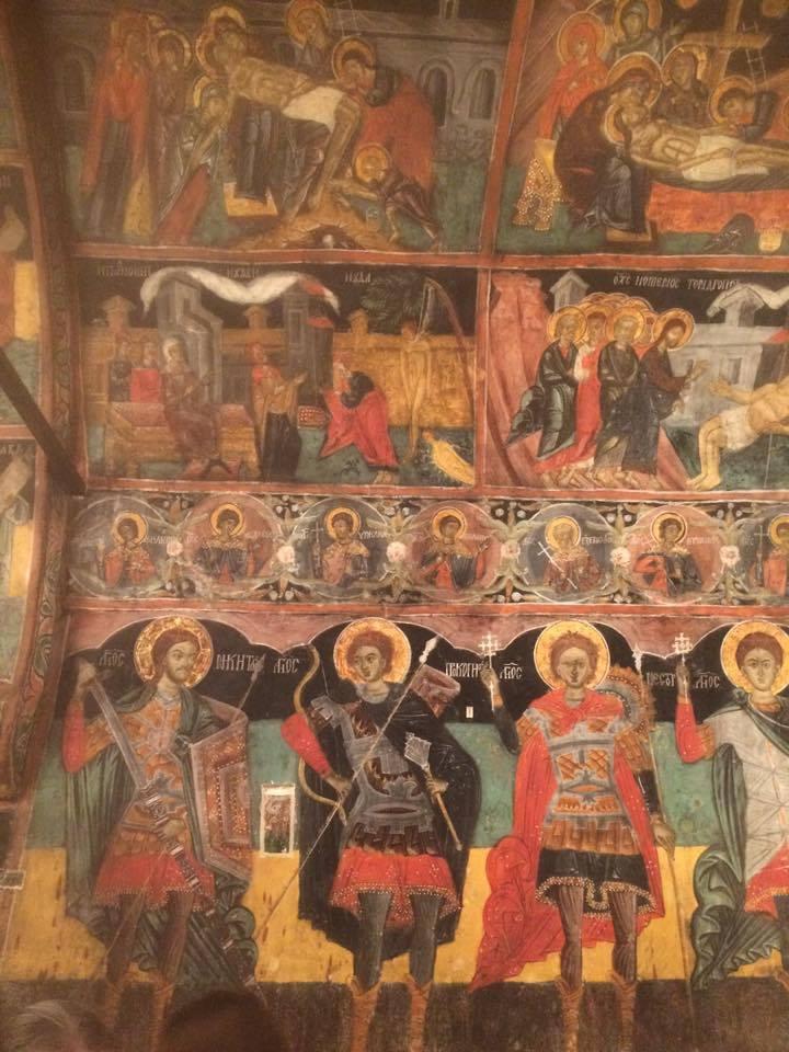 Frescoes in Arbanasi