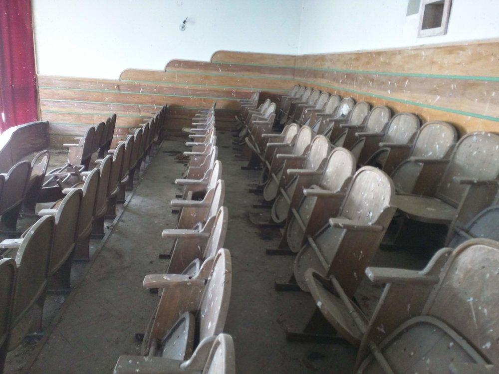 Seats in the balcony