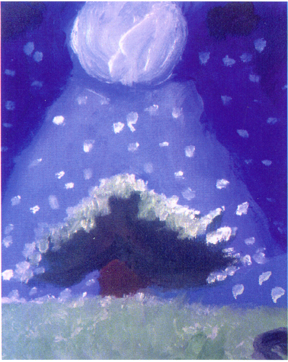 Christmas-Snowy Night-2001-Oil.png