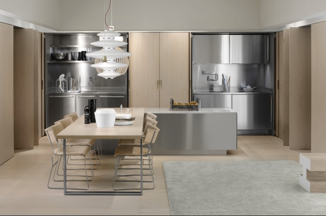 Italian ArcLinea Kitchen by Living Space Vancouver. Photo Arclinea.com