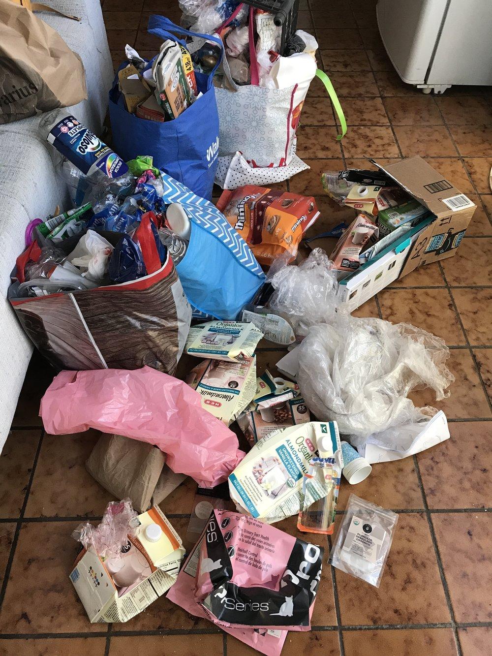 basura reciclar
