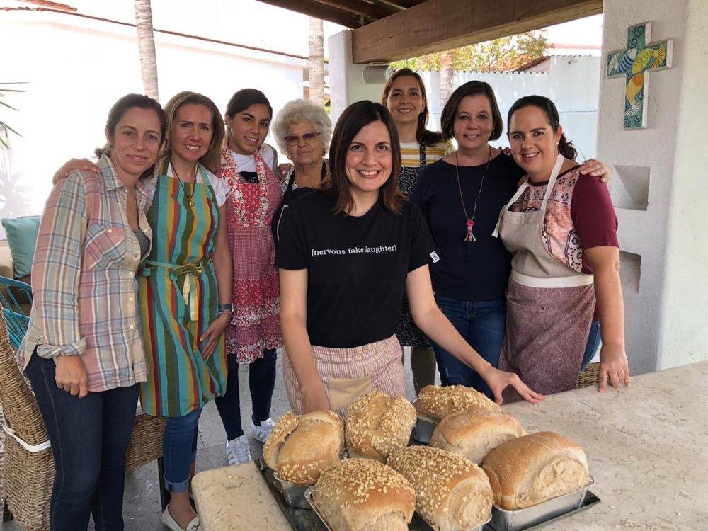 taller pan de masa madre