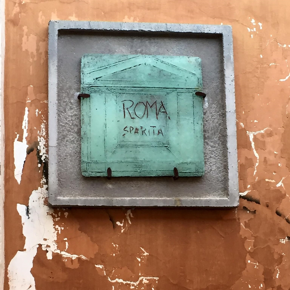 Roma Sparita - a favourite of Anthony Bourdain.
