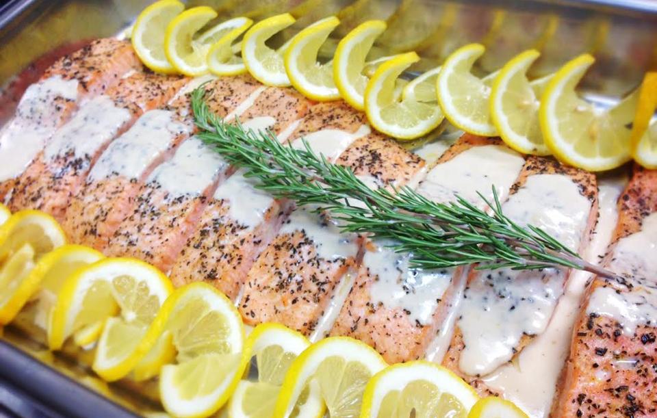 Herb Roasted Salmon Filet