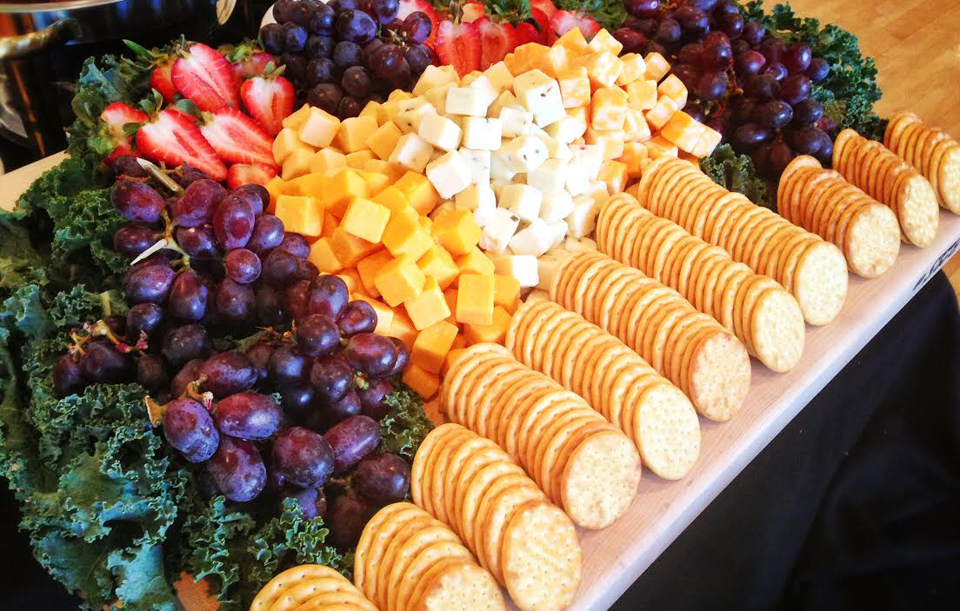 Assorted Cheeses & Crackers