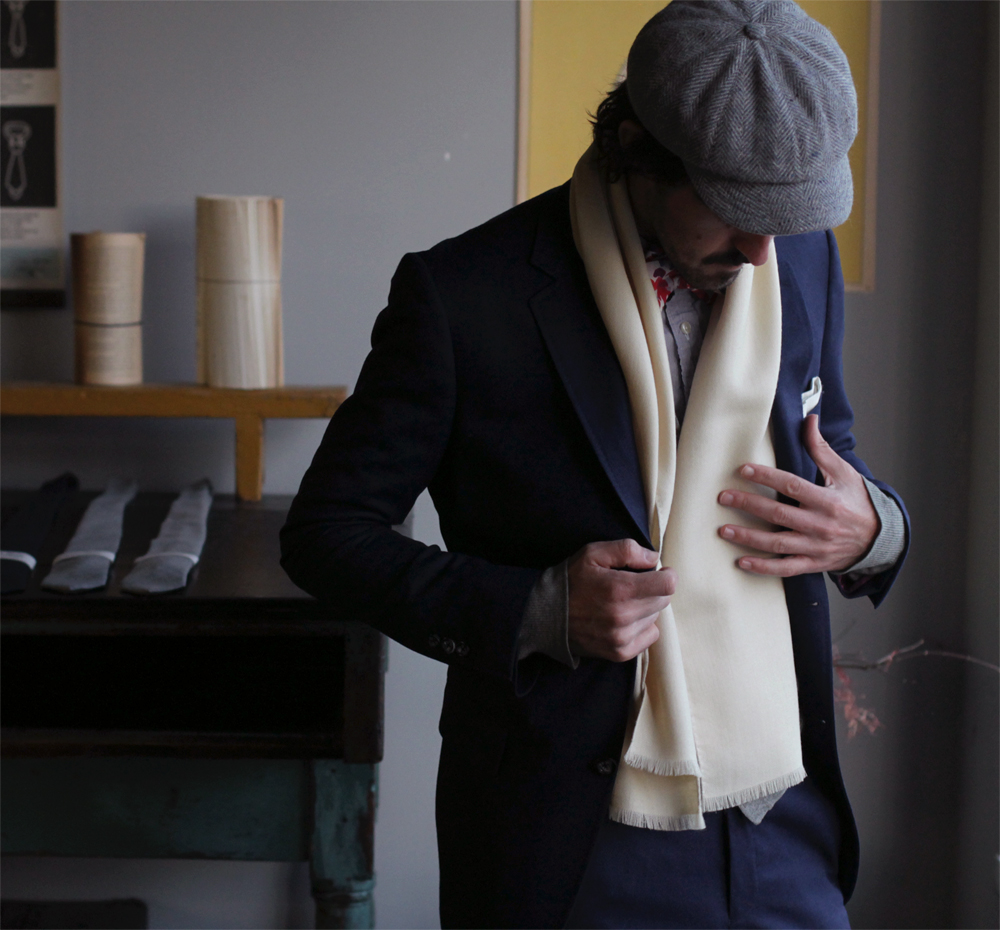 Men's Fashion  Otis James: Nashville, TN  I jump at any opportunity to give a gift as classy as handmade tie. Otis James is elevating men's appearances one hat, tie, scarf, and pocket square at time.