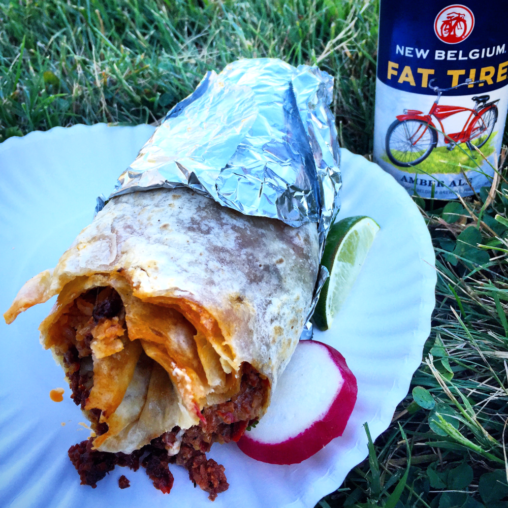 burritos and beers can be just as good as pasta and wine