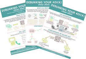 debunking your 401(k) cheat sheet